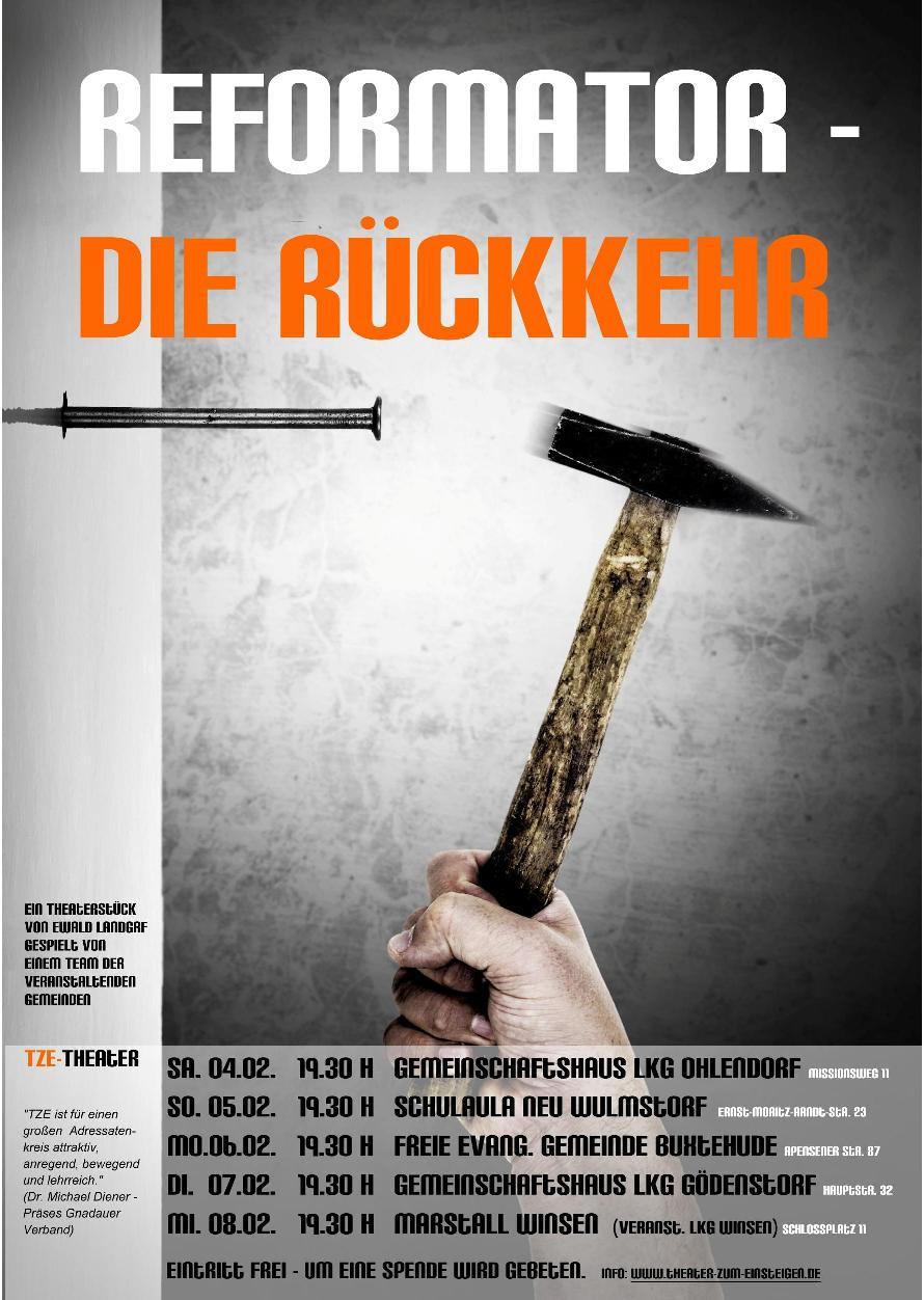 Theaterstück in der Hauptschule Vossbarg in Neu Wulmstorf -