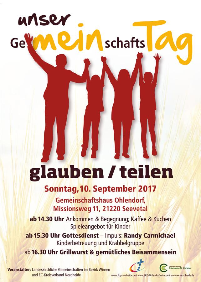 Gemeinschaftstag am 10. September 2017 in Seevetal