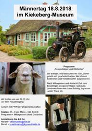18.08.2018 - Männertag im Freilichtmuseum Kiekeberg